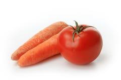 The fresh red tomato Royalty Free Stock Photos