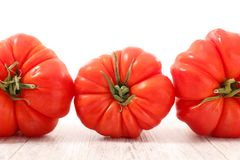 Fresh red tomato. Close up on fresh red tomato Stock Photo