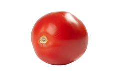 Fresh red tomatoes. On a white background Stock Images
