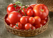 Fresh red tomatoes Stock Photography