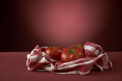 Fresh red tomatoes Stock Image