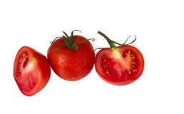 Real fresh red tomatoes Stock Image