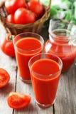 Fresh red tomatos Stock Photos