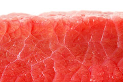 Fresh red uncooked meat close-up Stock Image