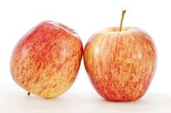 Fresh Red Yellow Apples Stock Photos