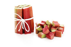 Fresh rhubarb Stock Photography