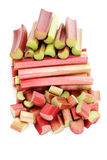 Fresh rhubarb Royalty Free Stock Photography