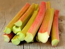Fresh rhubarb Royalty Free Stock Photography