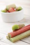 Fresh rhubarb Stock Images