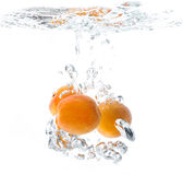 Fresh ripe apricot Royalty Free Stock Images