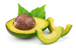 Fresh ripe avocado Royalty Free Stock Images