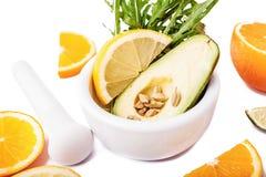 Fresh ripe avocado Stock Image