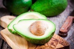 Fresh ripe avocado Stock Photos