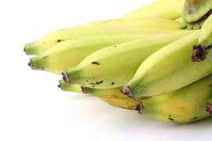 Fresh ripe banana  on white background Stock Photos