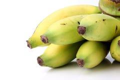 Fresh ripe banana  on white background Stock Photography