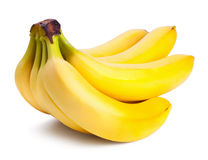 Fresh ripe bananas bunch Stock Image