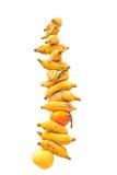Fresh ripe bananas Stock Image