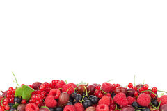 Fresh ripe berries Royalty Free Stock Image