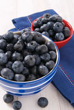 Fresh Ripe Blueberries Royalty Free Stock Photos
