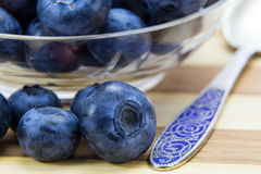 Fresh ripe blueberries Royalty Free Stock Photography