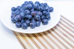 Fresh Ripe Blueberries Stock Images