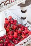 Fresh Ripe Cherries Royalty Free Stock Photography