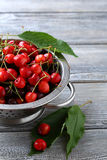 Fresh ripe cherry Royalty Free Stock Image