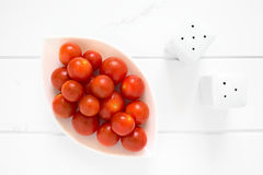 Fresh Ripe Cherry Tomatoes Stock Photos