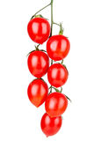 Fresh ripe cherry tomatoes Stock Photo