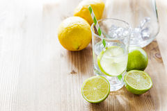 Fresh ripe citruses Stock Images
