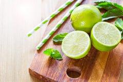 Fresh ripe citruses Stock Image
