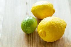 Fresh ripe citruses Stock Photography