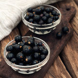 Fresh ripe currant berries Royalty Free Stock Photography