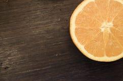 Fresh ripe cutted oranges Stock Photos