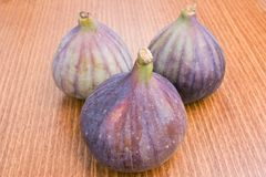 Fresh ripe figs Stock Photography