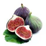 Fresh Ripe Figs Stock Photo