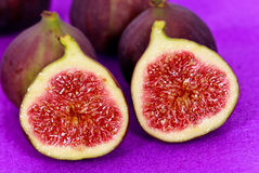 Fresh,ripe Figs,a close up shot Royalty Free Stock Images