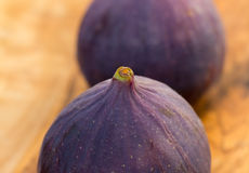 Fresh,ripe Figs,a close up shot Royalty Free Stock Photos