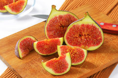 Fresh ripe figs Stock Image