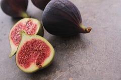 Fresh ripe figs fruit Royalty Free Stock Images