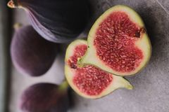 Fresh ripe figs fruit Royalty Free Stock Image