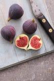 Fresh ripe figs fruit Stock Photo