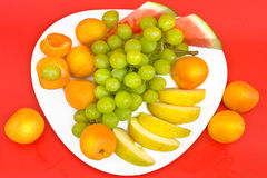 Fresh  ripe fruit Stock Images