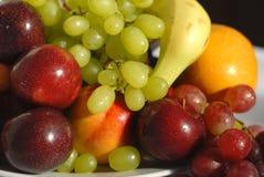 Fresh ripe fruit banan. Delicious fresh fruits with vitamins useful ripe Royalty Free Stock Photos