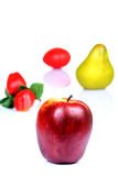 Fresh ripe fruits Stock Images