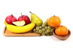 Fresh ripe fruits royalty free stock photo
