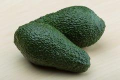 Fresh ripe green avocado Royalty Free Stock Photography
