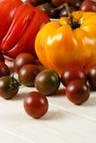 Fresh Ripe Heirloom Tomatoes Stock Photos