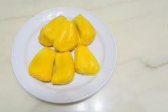 Fresh ripe Jackfruit in the bowl Royalty Free Stock Photo