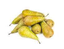 Fresh ripe juicy pear fruits Stock Images